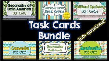 Task Cards BUNDLE