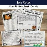 Task Cards: Non-Fiction Reading Informational Bundle | Mul