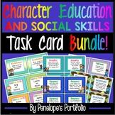 Character Education BUNDLE / Social Skills BUNDLE Task Cards