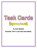 Task Cards: Beginning Sounds
