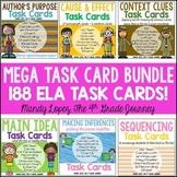 ELA Task Cards Bundle {188 Cards!}