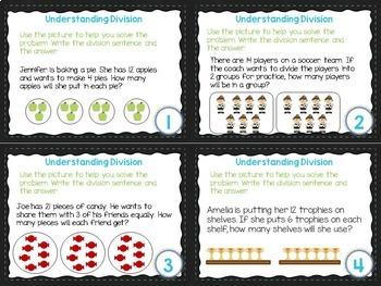 4th Grade Math Task Card Bundle- CCSS OA- Operations and Algebraic Thinking