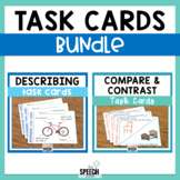 Describing and Compare and Contrast Cards Bundle
