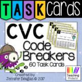 Task Cards - CVC Code Breakers