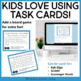 Task Cards: Cause and Effect for Winter for 3rd - 5th Grade