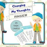 Anger Management - 24 Task Cards