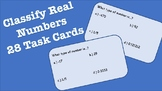 Task Cards: Classify Numbers