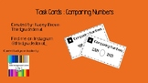 Task Cards Comparing Numbers
