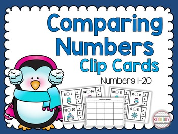 Comparing Numbers Activities and Centers