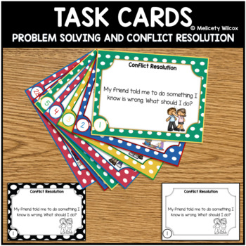 Task Cards: Conflict Resolution and Problem Solving