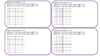Task Cards: Congruent Figures and Translations