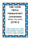 Task Cards: Converting Metric Measurements {5.MD.1}