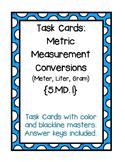 Task Cards: Converting Metric Measurements {5.MD.1}