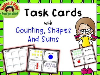 Counting, Adding and Recognizing Shapes