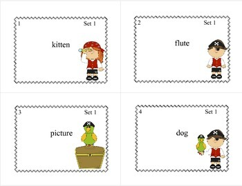 Task Cards  Help Pete Count The Syllables