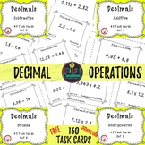 Free Download Adding & Subtracting Decimals Multiplying &