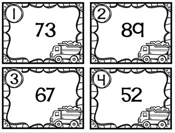 Task Cards Dump Truck Rounding