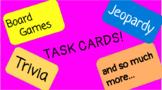 Task Cards EDITABLE!!!