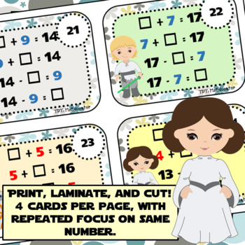 Task Cards: Fact Family 2.0