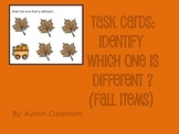 Task Cards- Fall Items (Which One is Different?) from Auti