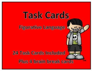 Task Cards-Figurative Language