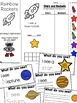 Literacy and Math Centers For Early Learners - Space Themed