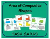 Task Cards: Finding the Area of Composite Shapes