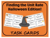 Task Cards: Finding the Unit Rate - Halloween Edition!