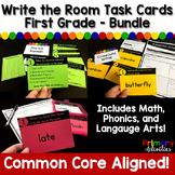 Task Cards - First Grade Bundle