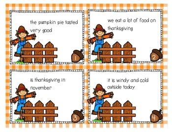 Task Cards {First Grade math & grammar}