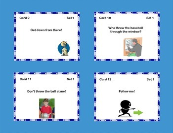 Task Cards Four Kinds of Sentences -Language Review