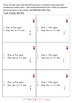 Task Cards - Fractions using squares and circles