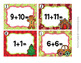 Task Cards Christmas Gingerbread Addition Doubles and Doubles Plus One