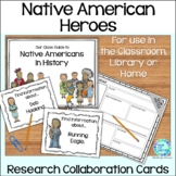 Native American Heritage Library Research Task Cards