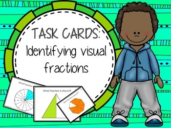 Task Cards: Visual Fractions