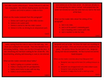 Task Cards- Inferring