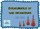 Task Cards: Instruments of the Orchestra