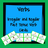 Task Cards Irregular and Regular Past Tense Verbs