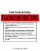 Task Cards-Lab Safety