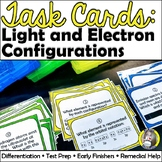 Task Cards: Light and Electron Configurations