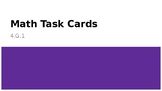 Task Cards - Lines, Line Segments, Rays, and Points - 4.G.1