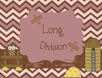 Task Cards:  Long Division