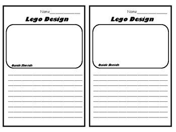 Task Cards Made for Use with Legos