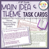 Task Cards-Main Idea & Theme