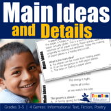 Main Idea Task Cards (STAAR Prep)