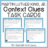 Task Cards: Martin Luther King, Jr. Context Clues | Martin Luther King Activity
