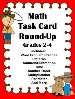 Math Task Card Round-Up