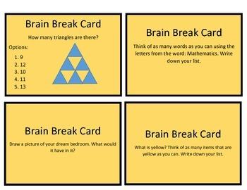 Task Cards: Mean Median Mode and Range