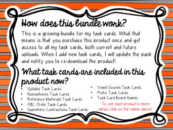 Task Cards Mega Bundle