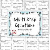 Solving Equations Multi-Step Equations Variables Both Side